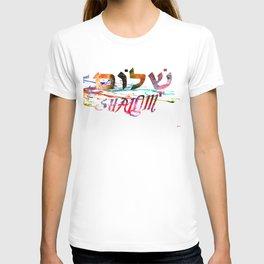 Shalom Hebrew Word T-shirt