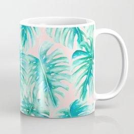 Paradise Palms Blush Coffee Mug