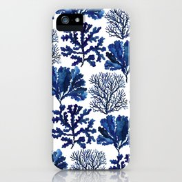 Sea life collection pattern iPhone Case