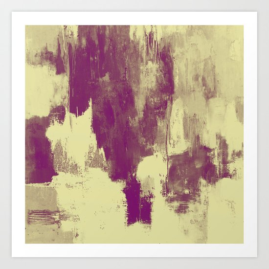 Textured Purple Art Print