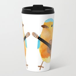 music bird Travel Mug