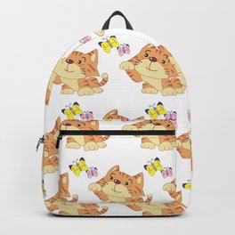 Butterfly & Cat Backpack