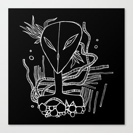 Alien-teenager from Orion Canvas Print