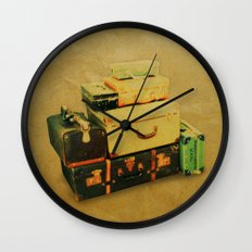 Time to Leave Wall Clock