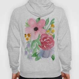 Floral Watercolor Bouquet no. 2 Hoody