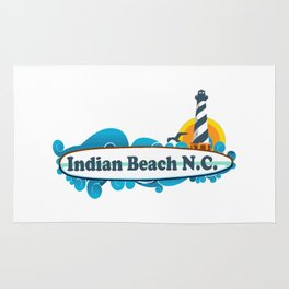 Indian Beach - North Carolina. Rug