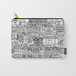 Cambridge toile mono Carry-All Pouch
