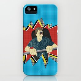 White knuckle roller coaster ride iPhone Case