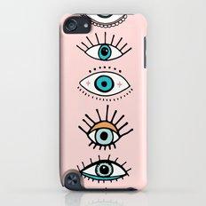 eye illustration print Slim Case iPod touch