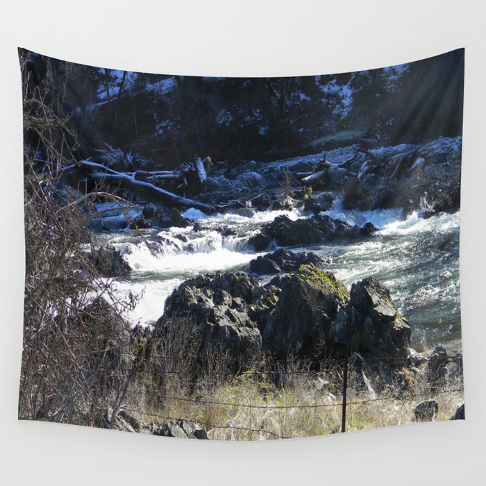 Winter scenery in Northern California... Wall Tapestry