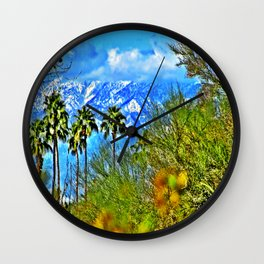 Californian Landscape Wall Clock