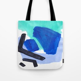 Ocean Torrent Whirlpool Teal Turquoise Blue Tote Bag