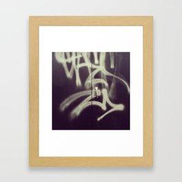 Locked out MTL Framed Art Print