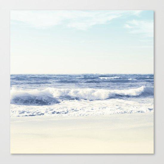 North Shore Beach Canvas Print