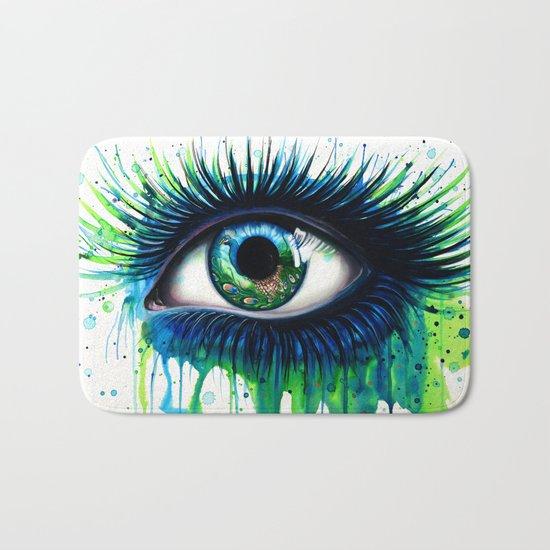 -The peacock- Bath Mat