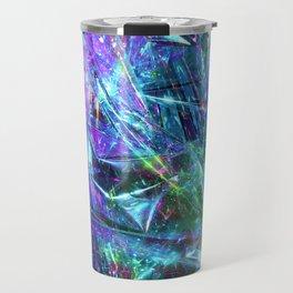 Abstract Prismatic Colors Travel Mug