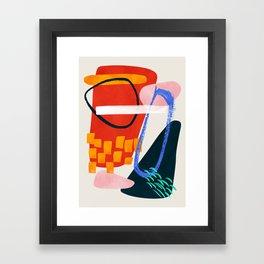 Mura Framed Art Print