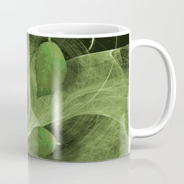 Leaves blowing in the wind Coffee Mug