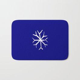 snowflake 4 Bath Mat