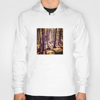 western Hoodies featuring Western Woods by Ken Seligson