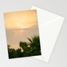 cloudy sky in the oasis Stationery Cards