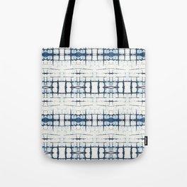 Faded Japanese Shibori Tote Bag