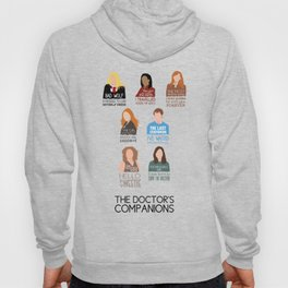 Doctor Who | Companions (alternate version) Hoody