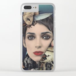 Double Edged Clear iPhone Case