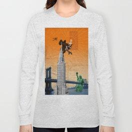 exit landscape Long Sleeve T-shirt
