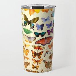 Sunflower and Butterflies Travel Mug