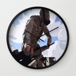Ma Deuce  Wall Clock