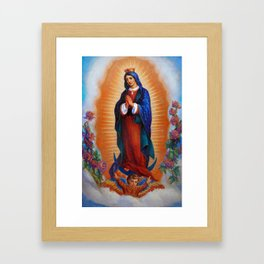 Our Lady of Guadalupe - Virgen de Guadalupe Framed Art Print