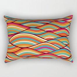 festive river Rectangular Pillow