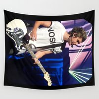 niall Wall Tapestries featuring Niall by clevernessofyou
