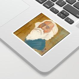 Portrait of Rabindranath Tagore Sticker