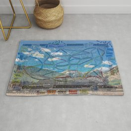 Ticket To Train Board Game Rug