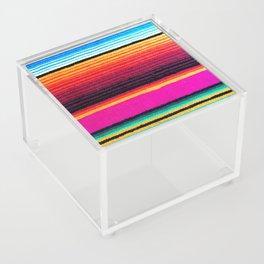 Magenta Sky Serape Acrylic Box