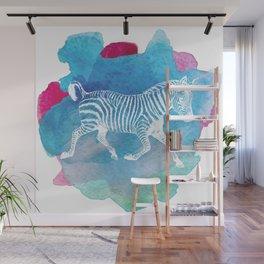 Color Spot Safari Zebra Wall Mural