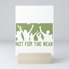 Stop Smoking saying Mini Art Print
