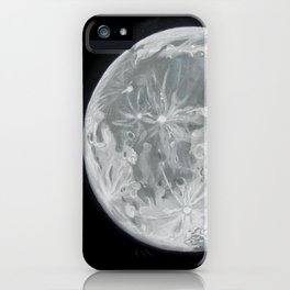 Moon Portrait 2 iPhone Case