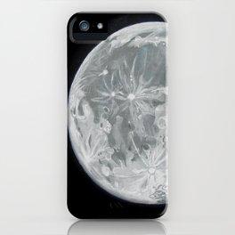 Moon Portrait 2 iPhone Case