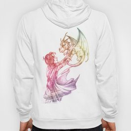 A Girl and Her Dragon Hoody
