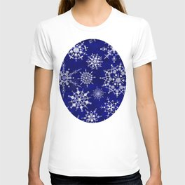 Snowflakes Floating through the Sky T-shirt