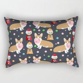 Corgi welsh corgis gumball bubblegum cute dog breed corgis pet gifts Rectangular Pillow