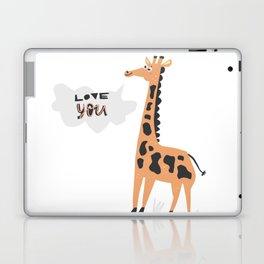 Love Giraffe Laptop & iPad Skin
