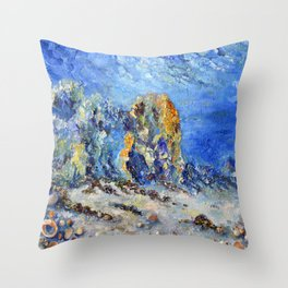 Undersea world # 3 Throw Pillow