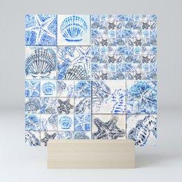 Oceans 4X by Raffa Mini Art Print