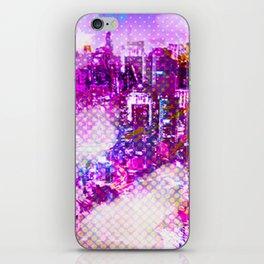 Retro Comic City iPhone Skin