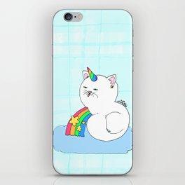 kittycorn iPhone Skin