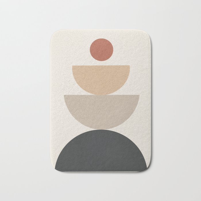 Geometric Modern Art 31 Bath Mat